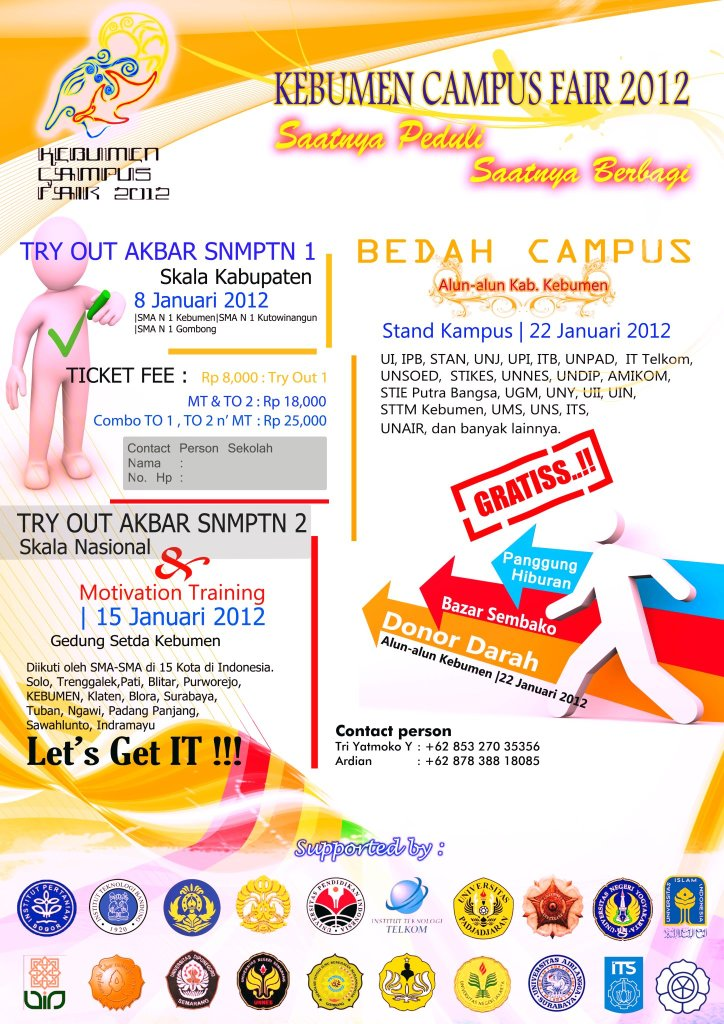 Kebumen Campus Fair 2012